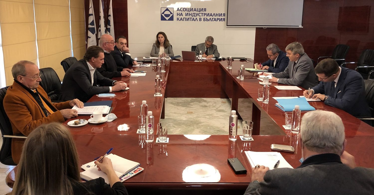 ABЕО discusses the economic priorities of Bulgaria with BSP and DPS