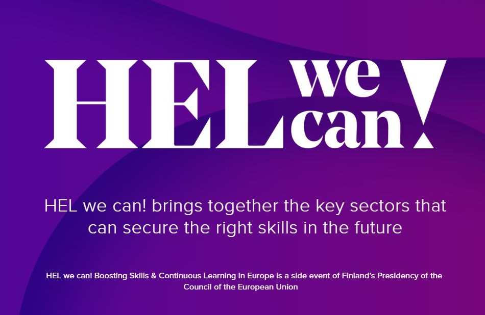 HELweCan! – Boosting skills & continuous learning