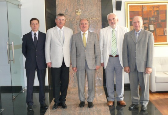 The Ambassador of Ucraine on a visit in BIA