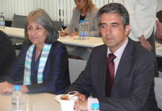 Meeting of BICA,BIA and BCCI with the candidate presidential couple Plevneliev – Popova
