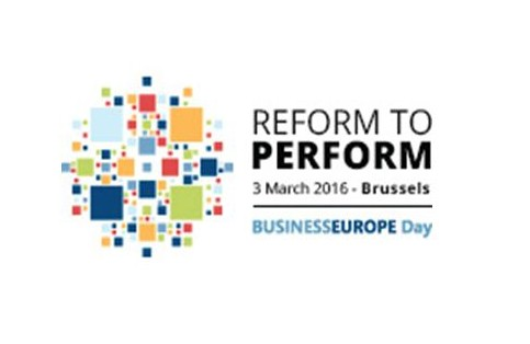 BUSINESSEUROPE Day 2016 - 3 March 2016, Brussels