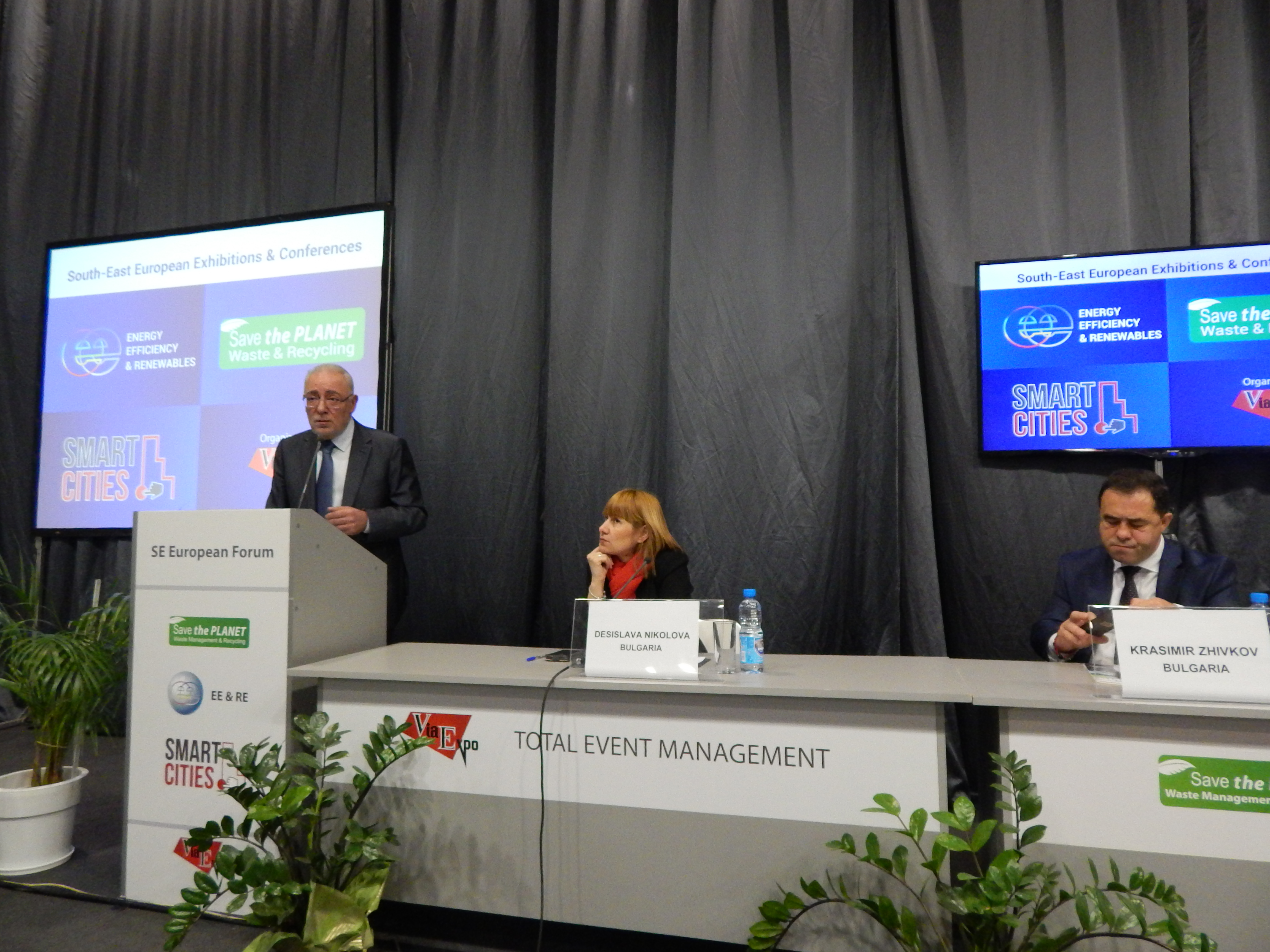 BIA's President opened the series of international events on energy, waste management and smart cities