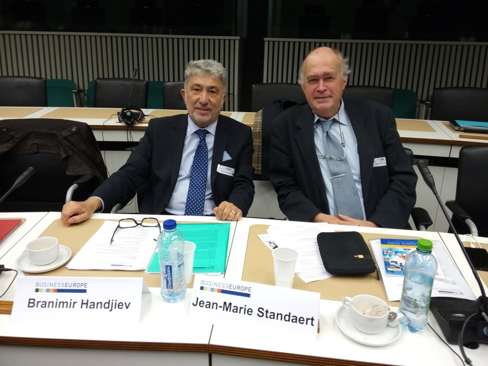 Meeting of the Executive Committee (EXEO) of BUSINESS EUROPE was held in Brussels