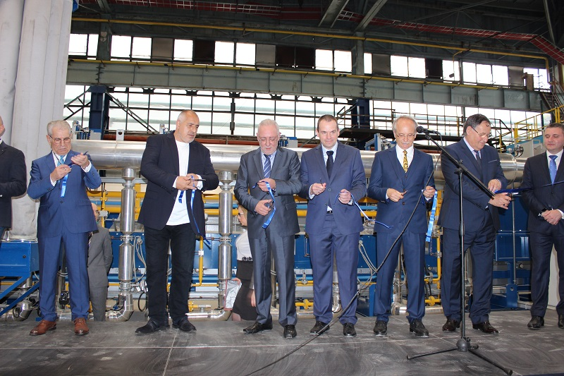 "BIA's President Radosvet Radev attends the opening of the new facilities in ""Alcomet"""